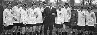 History of Women Soccer