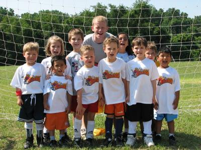 ALL STAR SOCCER TOTS WITH COACH BECKHAM