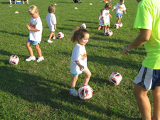 FUTURE MIA HAMM FUTURE HOPE SOLO MAKES SOCCER MOM SO PROUD FIRST EVER SOCCER CAMP YAY SOCCER MUNCHKINS